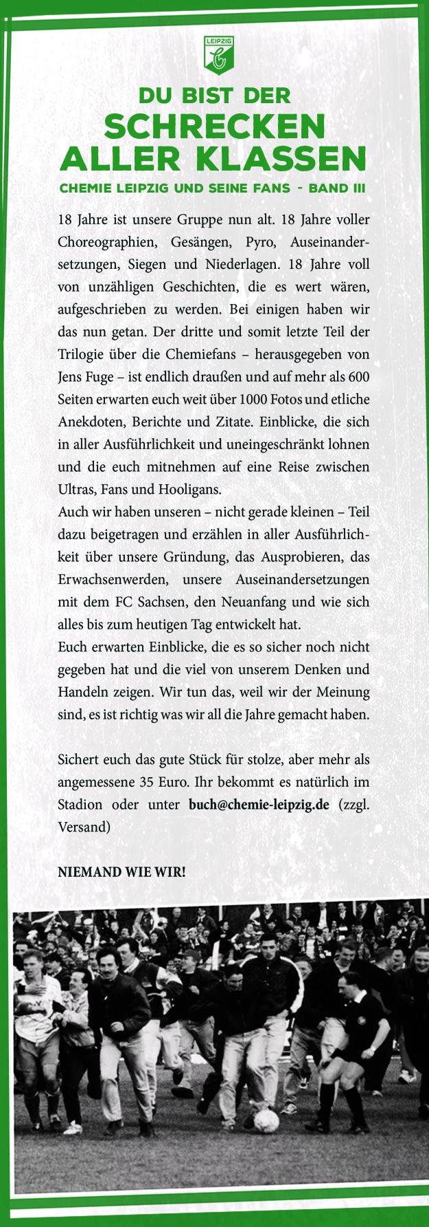 Chemie Leipzig und seine Fans III