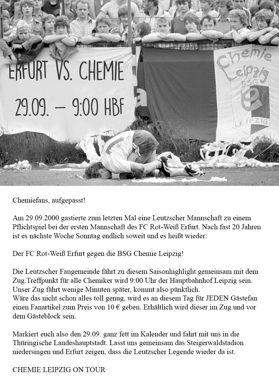 Ankündigung Erfurt