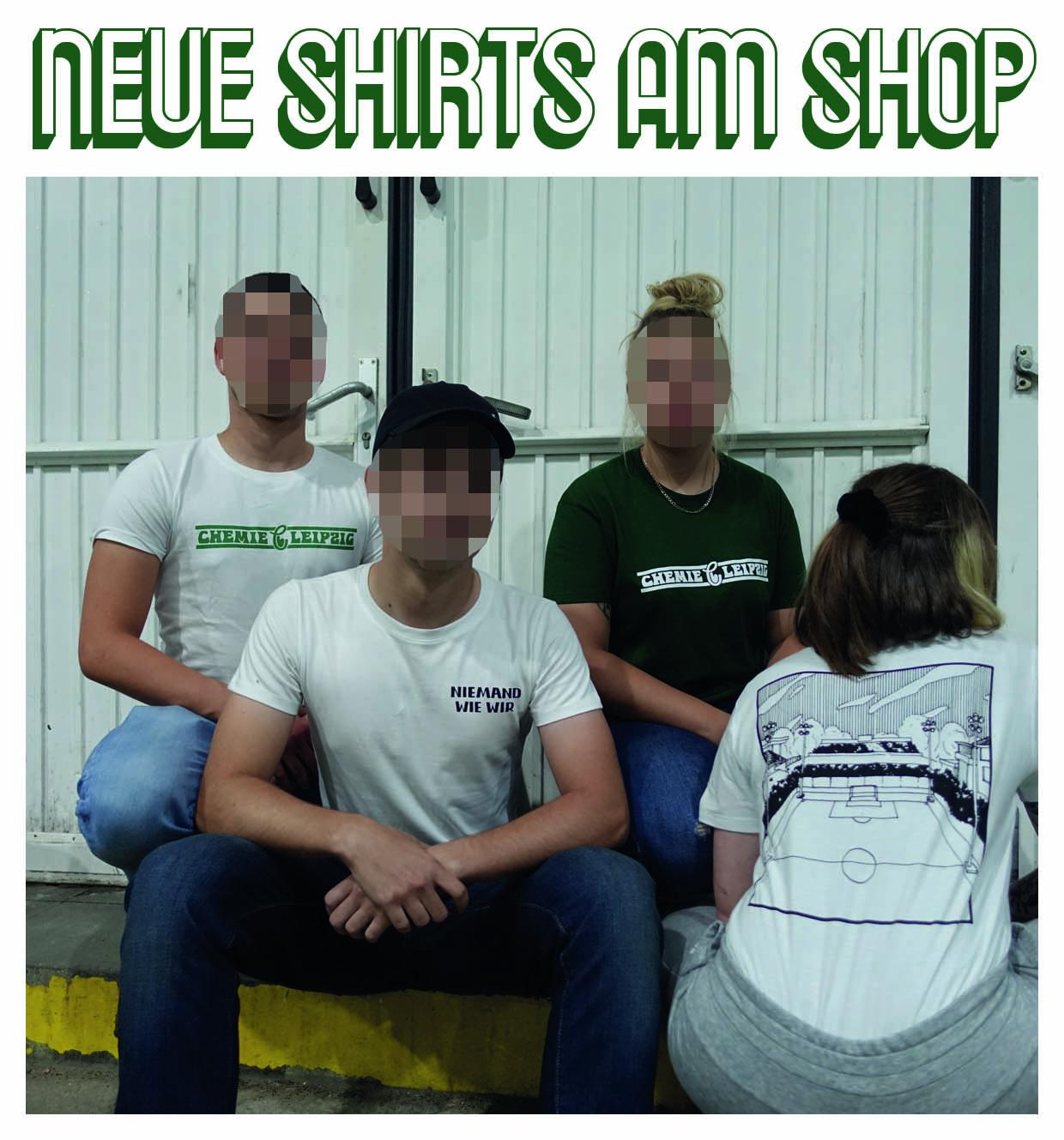 Ankündigung neue Shirts